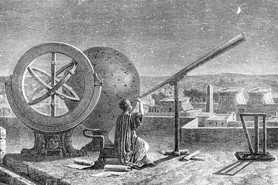Hipparchus, Ancient Greek Astronomer Poster