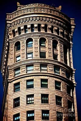 Historic Building In San Francisco - Colour Poster by Hideaki Sakurai