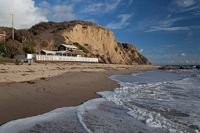 Historic Cottage  Crystal Cove State Beach Poster