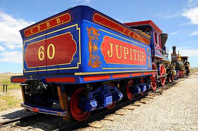 Historic Jupiter Train - Promontory Point National Historic Park Poster