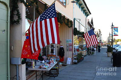 Historic Niles District In California Near Fremont . Main Street . Niles Boulevard . 7d10692 Poster