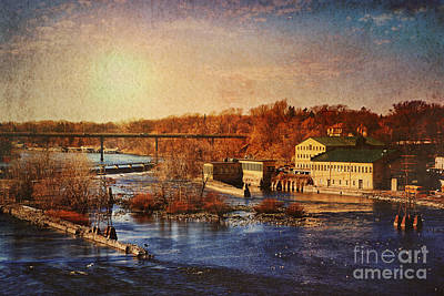 Poster featuring the photograph Historic Vulcan Paper Mill by Joel Witmeyer