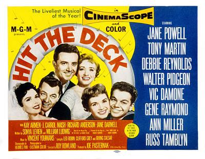 Hit The Deck, Ann Miller, Tony Martin Poster