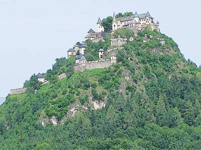 Hochosterwitz Castle Austria Poster by Joseph Hendrix