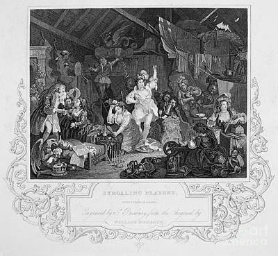Hogarth: Actresses Poster