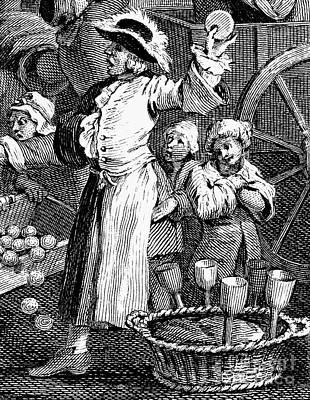 Hogarth: Cutpurse, 1751 Poster by Granger