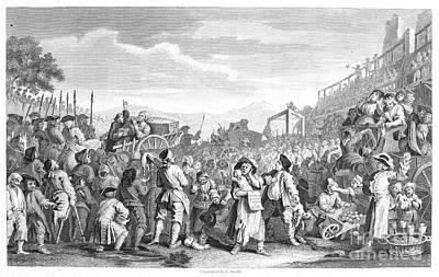Hogarth: Industry, 1751 Poster by Granger