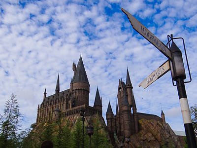 Poster featuring the photograph Hogwarts Castle by Julia Wilcox