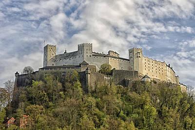 Hohensalzburg Castle Poster by Lauri Novak
