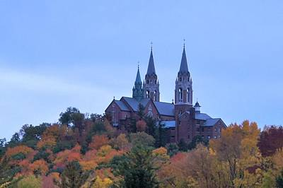 Poster featuring the photograph Holy Hill by Kristine Bogdanovich