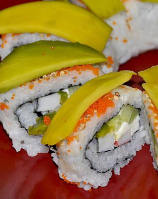 Homemade Sushi Poster by Carolyn Marshall