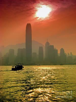 Hong Kong Sunset Poster