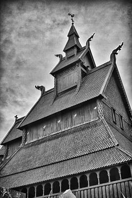 Hopperstad Stave Church Poster by A A