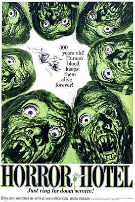 Horror Hotel, Aka The City Of The Dead Poster