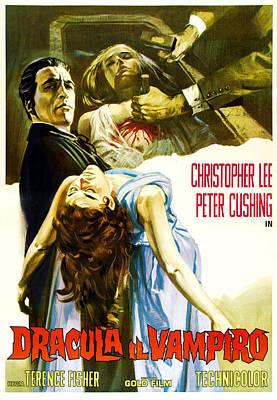 Horror Of Dracula Aka Dracula Poster