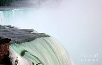Horseshoe Falls Mist Poster