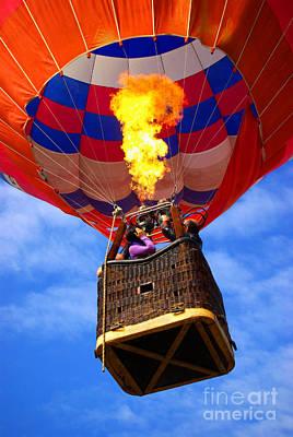 Hot Air Balloon Poster by Carlos Caetano