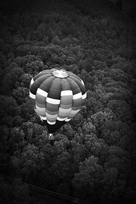Poster featuring the photograph Hot Air Balloon by Kelly Hazel