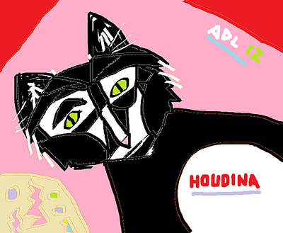 Houdina Poster by Anita Dale Livaditis