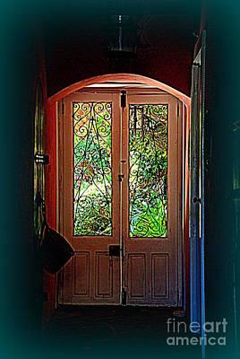 House Door 7 In Charleston Sc  Poster