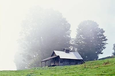 House Near Peacham, Vermont, Usa Poster