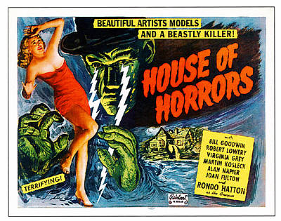 House Of Horrors, L-r Virginia Grey Poster