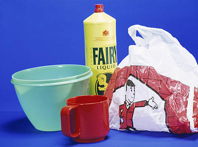 Household Plastic Items Poster by Andrew Lambert Photography