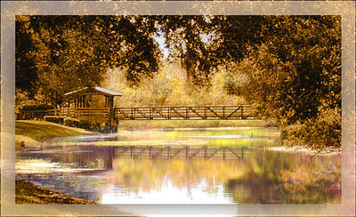 Howe's Bayou Poster by Ginny Schmidt