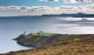 Howth And Dublin Bay Poster by Semmick Photo