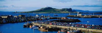 Howth Harbour & Irelands Eye, Co Poster