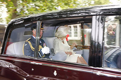 Hrh Prince Charles And Camilla Poster
