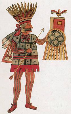 Huitzilopochtli, Aztec God Of War Poster