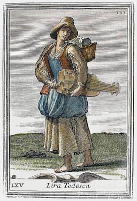 Hurdy Gurdy, 1723 Poster by Granger
