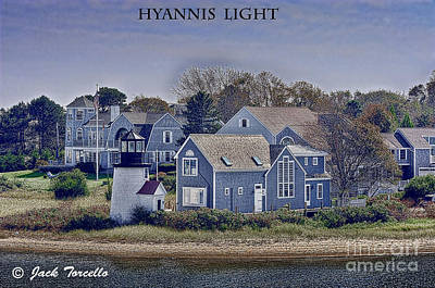 Poster featuring the photograph Hyannis Light by Jack Torcello