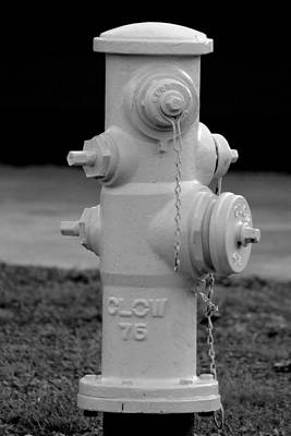 Poster featuring the photograph Hydrant by Elizabeth  Doran