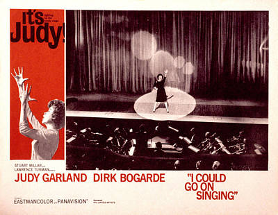 I Could Go On Singing, Judy Garland Poster