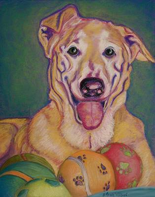 Poster featuring the pastel I Share by D Renee Wilson