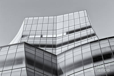Iac Building V Poster by Clarence Holmes