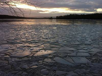 Ice Sea After Storm Dagmar Poster
