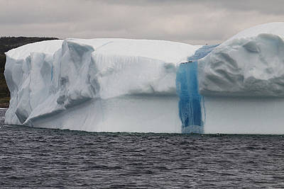 Poster featuring the photograph Iceberg by Eunice Gibb