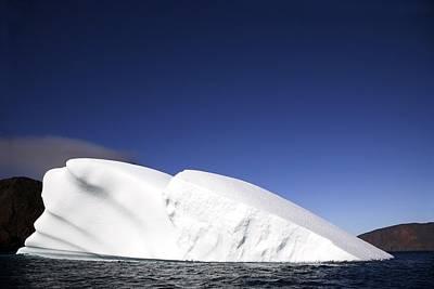 Iceberg In Canadian Arctic Poster