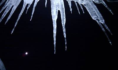 Icicle Moon Poster