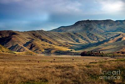 Idaho Foothills Poster by Robert Bales