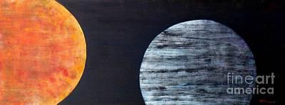 Poster featuring the painting Illumination by Barbara Moignard