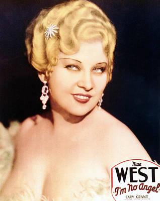 Im No Angel, Mae West, 1933 Poster by Everett