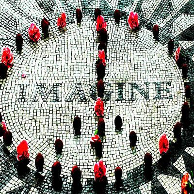Imagine Peace Licensing Art Poster