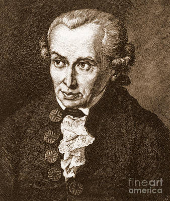 Immanuel Kant, German Philosopher Poster by Science Source