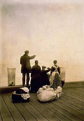 Immigrant Family And Their Belongings Poster