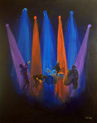 Improvisation Of The Soul Poster by Bill Werle