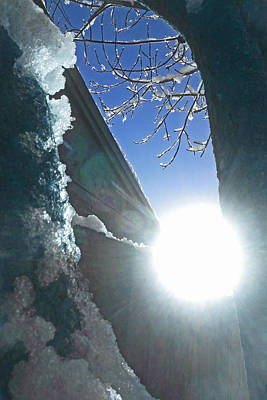 Poster featuring the photograph In The Cold Of The Sun by Steve Taylor